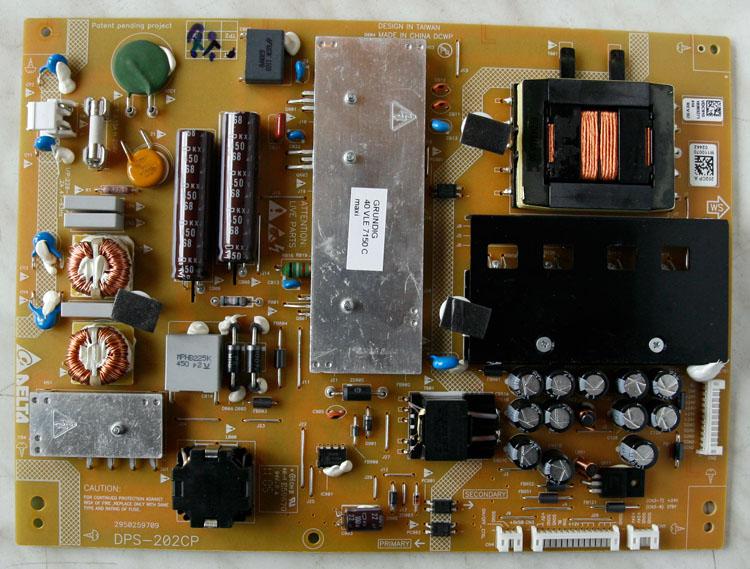 netzteil board dps 202cp a f r led fernseher grundig 40 vle 7150 c ebay. Black Bedroom Furniture Sets. Home Design Ideas